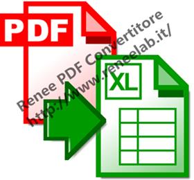 convertire file da pdf a xls_Renee PDF Convertitore 280