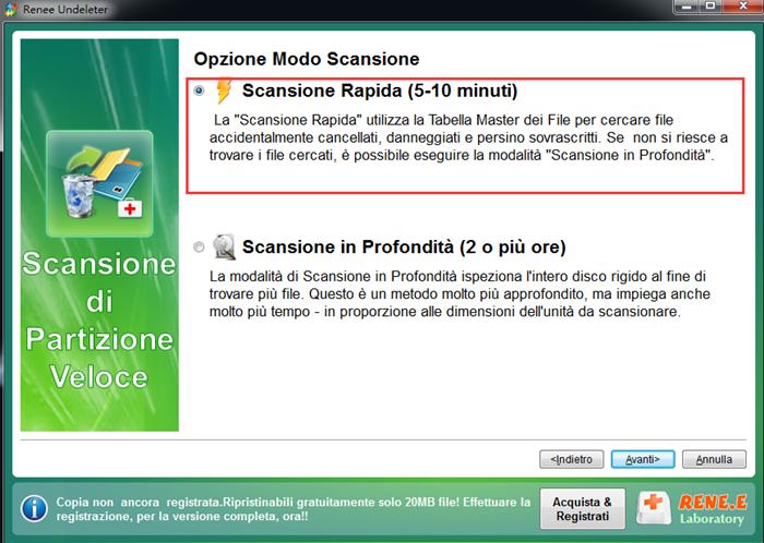 Programma per recuperare file cancellati gratis italiano for Programma progettazione giardini gratis italiano