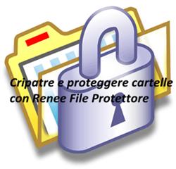 criptare cartelle con Renee File protettore_250