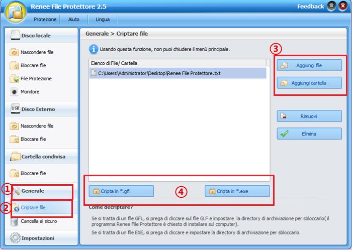 procedura di criptare file_700
