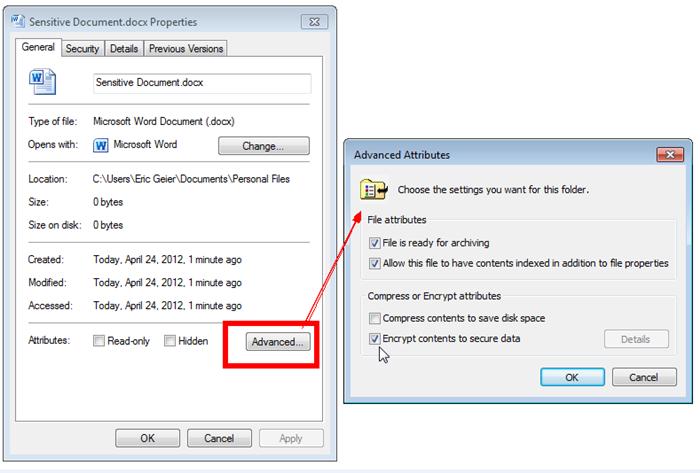 crittografare file con Windows-Renee file protettore_700
