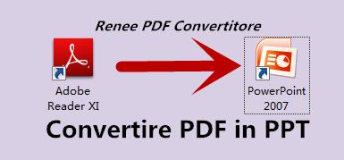 Renee PDF Convertitore convertire pdf in ppt