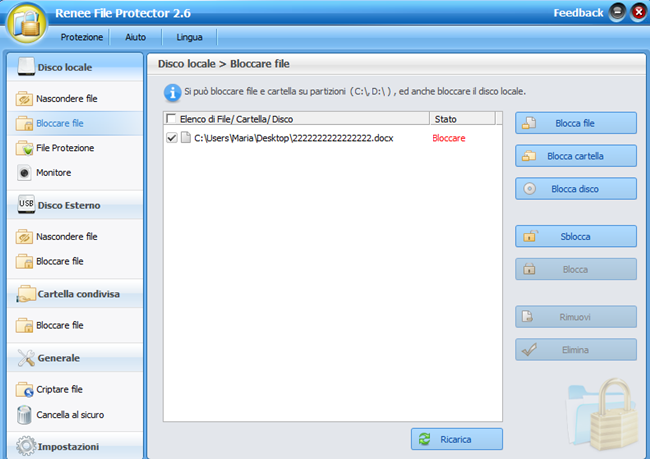 proteggere file con password 2