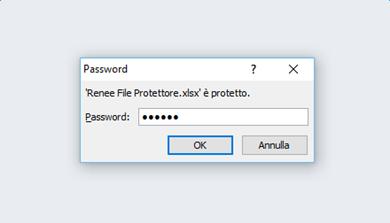 proteggere file excel con microsoft office 4