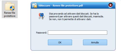 3 accedere al file protetto