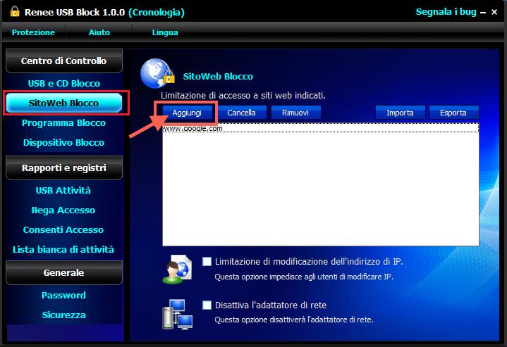 Sitiweb blocco 1