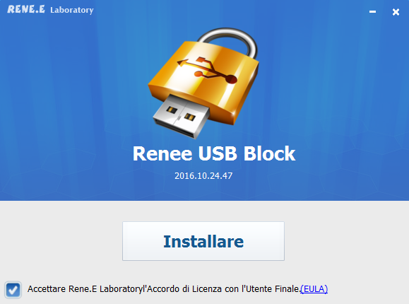 installa Renee usb block