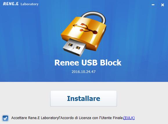 installa Renee usb block